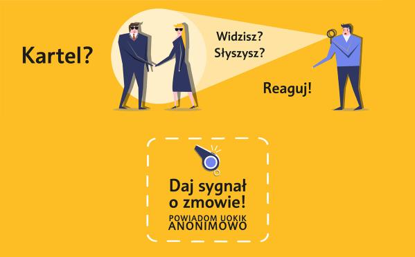 """UOKiK uruchomił specjalny serwis do zgłoszeń """"sygnalistów"""""""