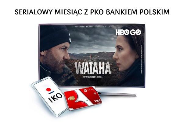 Konto w PKO BP z miesięcznym dostępem do HBO GO
