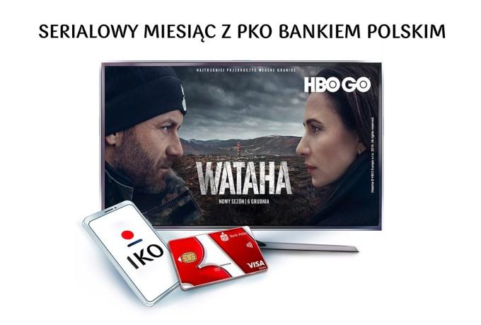 Serialowy miesiąc w PKO Banku Polskim – promocja dostępu do HBO GO