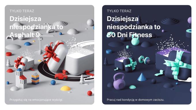 Świąteczne niespodzianki w sklepie App Store z 29 grudnia 2019