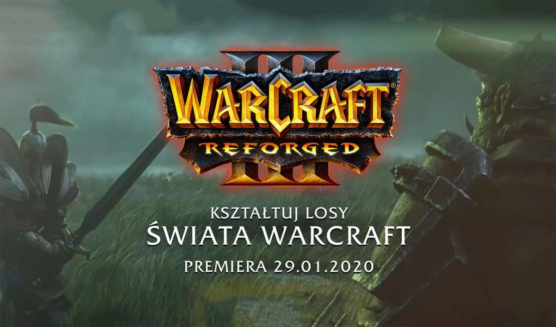 Warcraft 3: Reforged już 29 stycznia 2020 r.