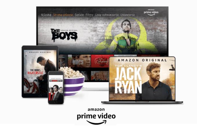 Amazon Prime Video w sieci Play na 6 mies. za 0 zł