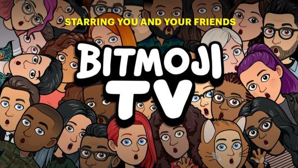 Bitmoji TV z 4-minutowymi animacjami z udziałem Twojego awatara