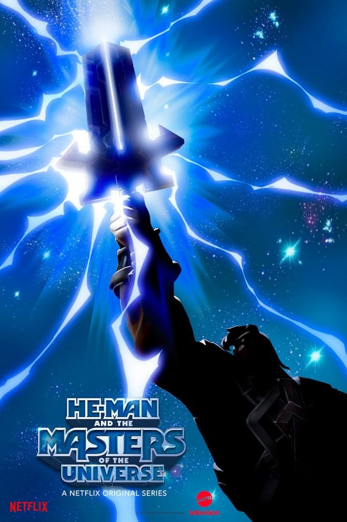 Plakat serialu He-Man Władcy Wszechświata (Netflix)