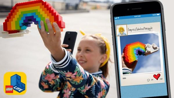 LEGO® Life z cyfrowymi instrukcjami  i społecznością fanów