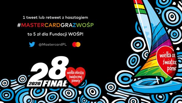 """""""Wszystkie ręce na pokład"""": Mastercard znowu zagra podczas Finału WOŚP"""