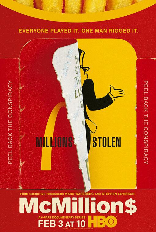 Plakat promujący serial McMillions (McMiliony) HBO (3 lutego 2020 r.)