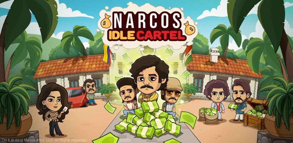 Gra mobilna Narcos: Idle Cartel