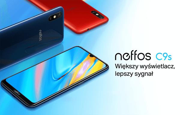 Budżetowy smartfon TP-Link NeffosC9s z dużym wyświetlaczem