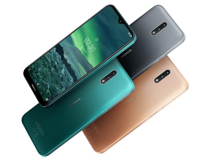 Nokia 2.3 - kolory