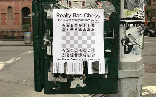 "Przemądrzałe mobilne szachy ""Really Bad Chess"""