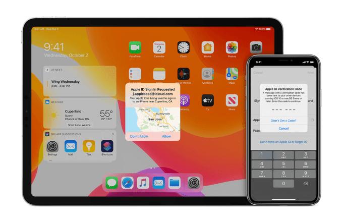 Uwierytelnienie dwupoziomowe Apple