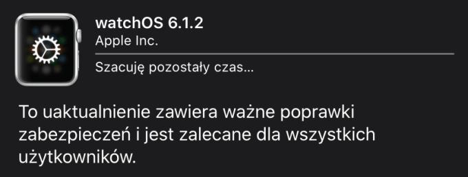 watchOS 6.1.2 (update)