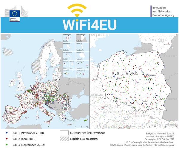 WiFi4EU: Gdzie skorzystasz z darmowego Wi-Fi w Europie?