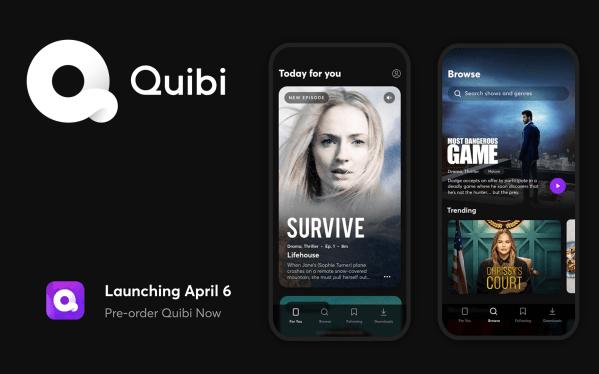 Quibi to nowy serwis sVOD na urządzenia mobilne!