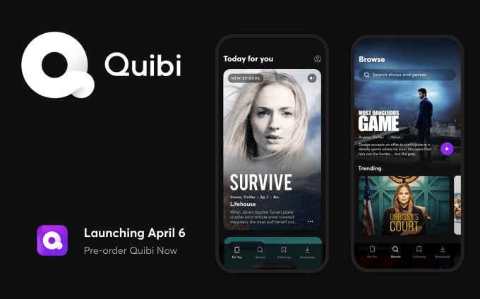 Quibi: New Episodes Daily