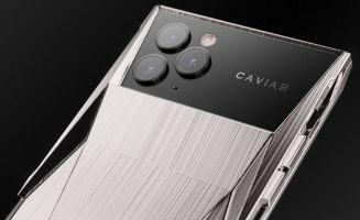 Cyberphone (połaczenie iPhone'a 11 Pro i Cybertrucka) od Caviar