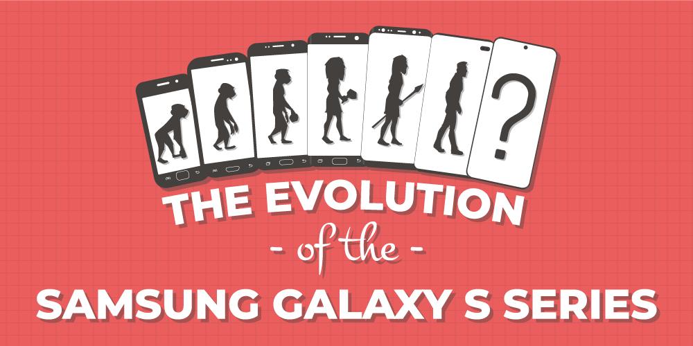 Ewolucja serii Galaxy S od 2010 do 2020 roku