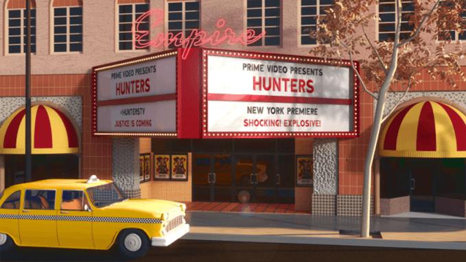 Specjalnie stylizowana lokalizacja na potrzeby promocji serialu