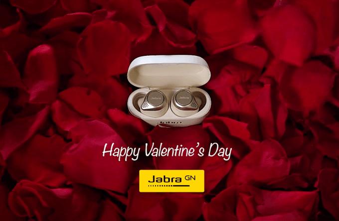 Słuchawki bezprzewodowe Jabra Elite 75t na Walentynki