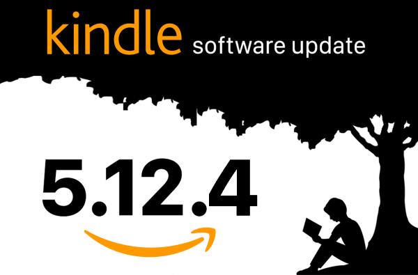 Aktualizacja oprogramowania Kindle Firmware 5.12.4