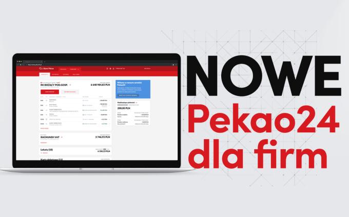 Nowe Pekao24 dla firm