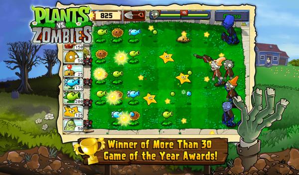 Zombiaki z Plants vs. Zombies™ nigdy nie przestaną mi się nudzić!