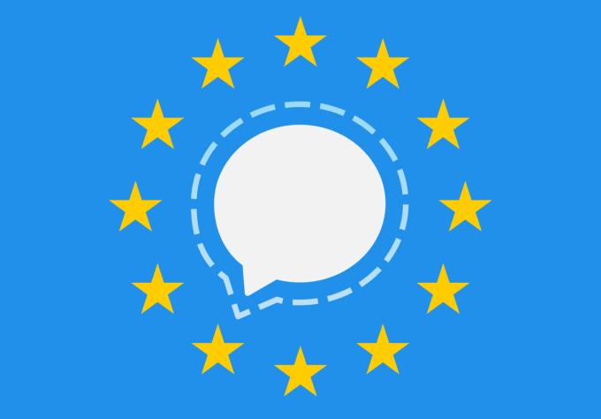 Signal oficjalnym komunikatorem Komisji Europejskiej