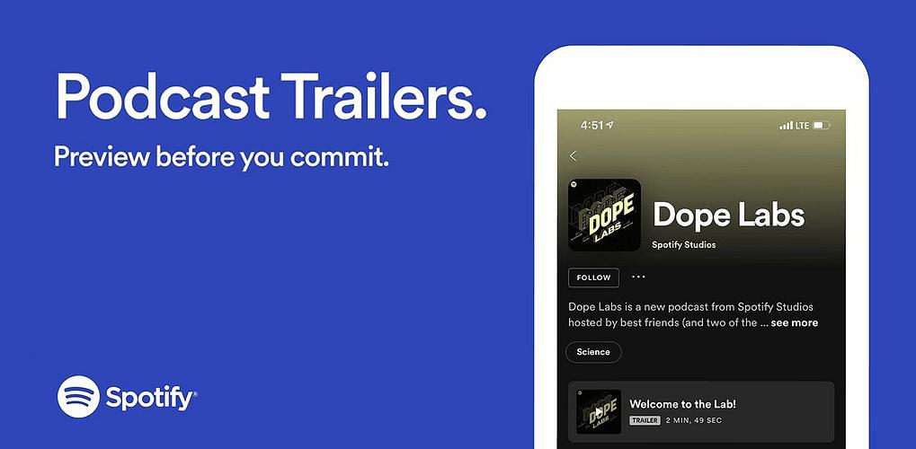 Spotify Podcast Show (Trailers)