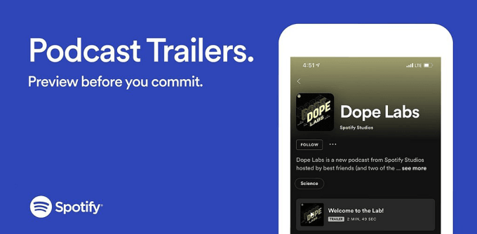 Spotify Podcast Show (Trailers)