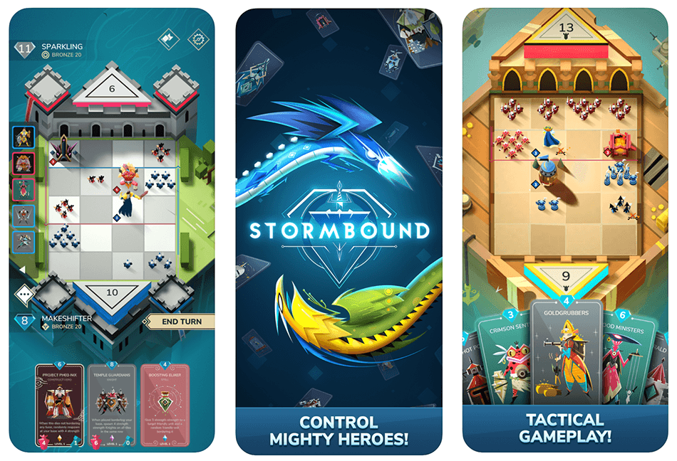 Gra mobilna StormBound: Kingdom Wars