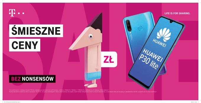 T-Mobile smartfony w nowej ofercie abonamentowej (Huawei)