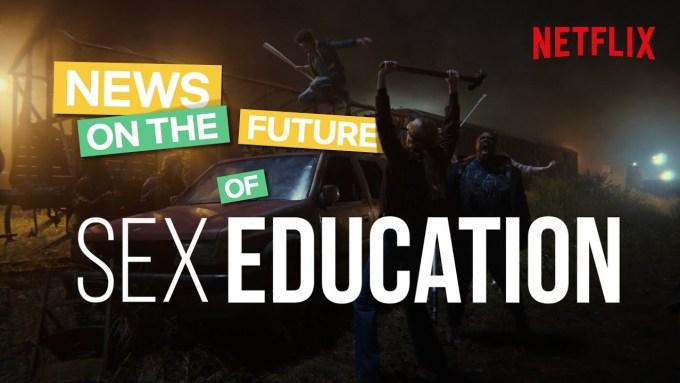 "3. sezon serialu ""Sex Education"""