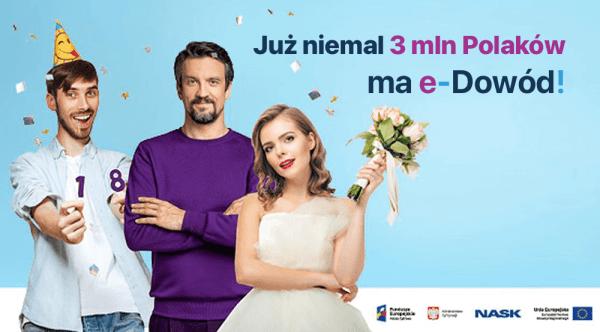 W ciągu roku już 3 mln Polaków zawnioskowało o e-dowód