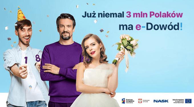 Już niemal 3 mln Polaków ma e-Dowód (już rok e-dowodów)