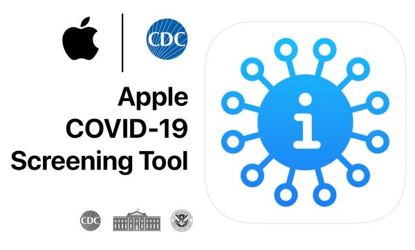 """""""Apple COVID-19"""" – aplikacja i strona oparte na wytycznych CDC"""