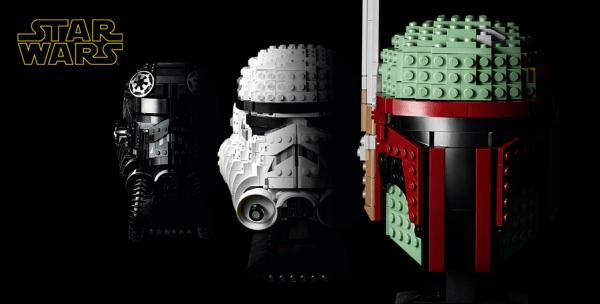 Nowe kolekcje hełmów z serii LEGO® Star Wars™ już 19 kwietnia!