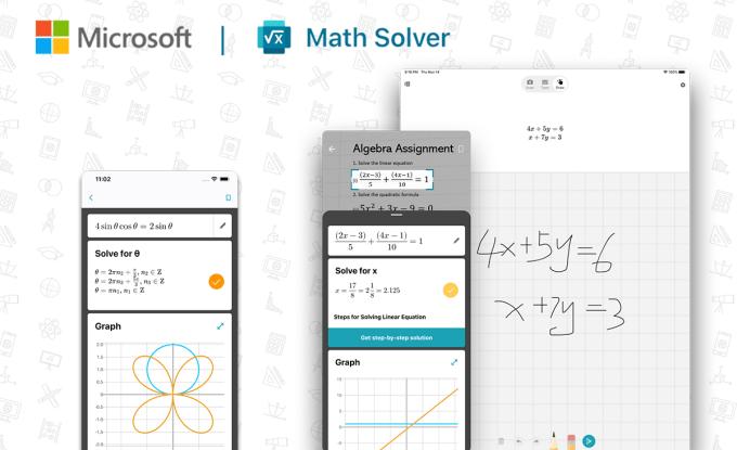 Microsoft Math Solver - aplikacja do nauki algebry