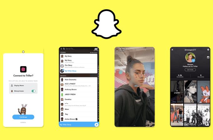 Snapchat App Stories