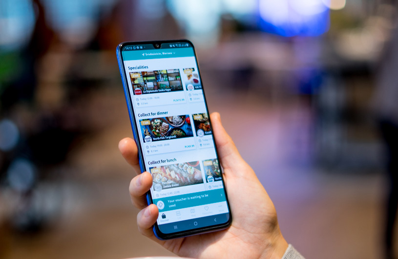 Aplikacja mobilna To Good To Go