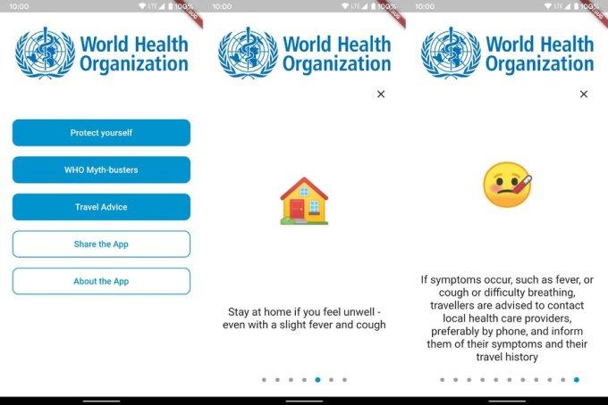 WHO MyHealth - aplikacja mobilna do walki z COVID-19