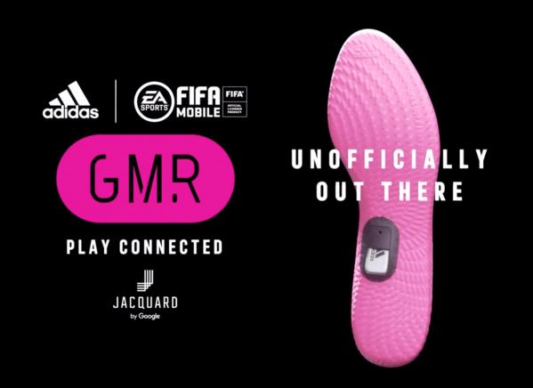 """Inteligentne wkładki GMR od Google i Adidasa, które łączą się z """"FIFA Mobile"""""""