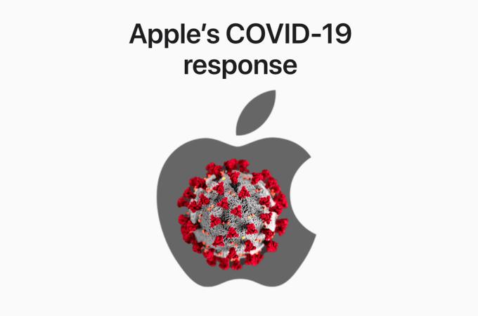 Stanowisko Apple'a w sprawie COVID-19