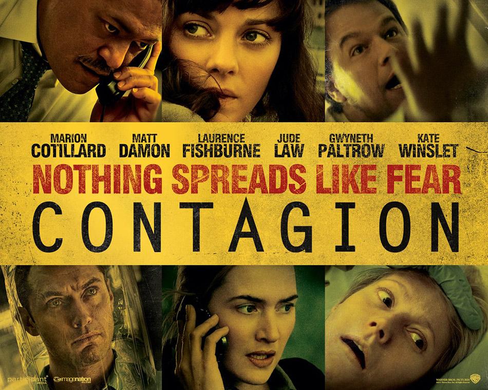 """Plakat """"Contagion – Epidemia strachu"""" (film, 2011)"""