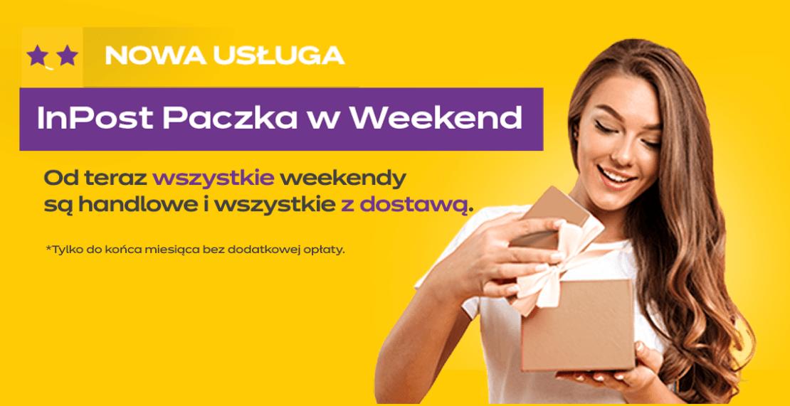 W marcu InPost dostarczy Paczkę w Weekend za darmo!