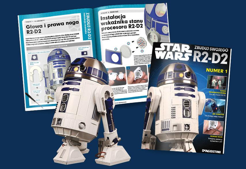 """Magazyn """"Zbuduj swojego Star Wars R2-D2"""" od De Agostini (2020)"""