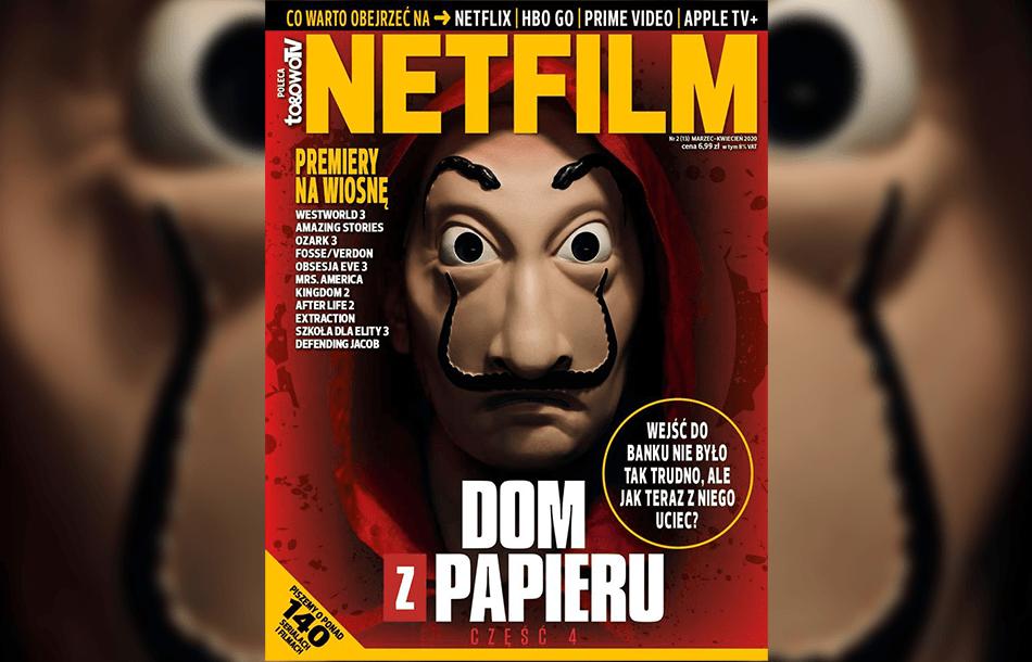 """Okładka magazynu """"Netfilm"""" numer 13. (marzec 2020 r.)"""