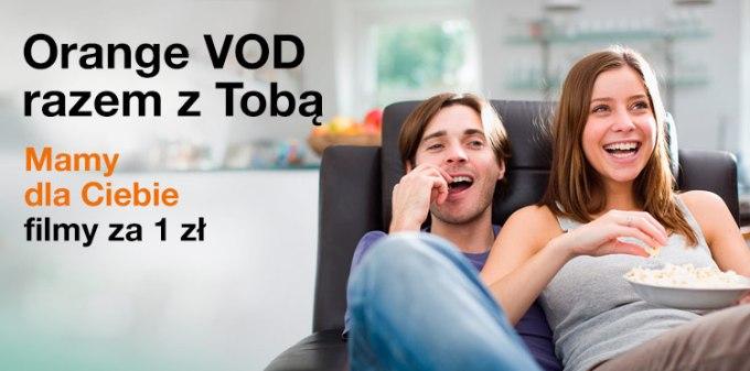 Filmy w Orange VOD za 1 zł