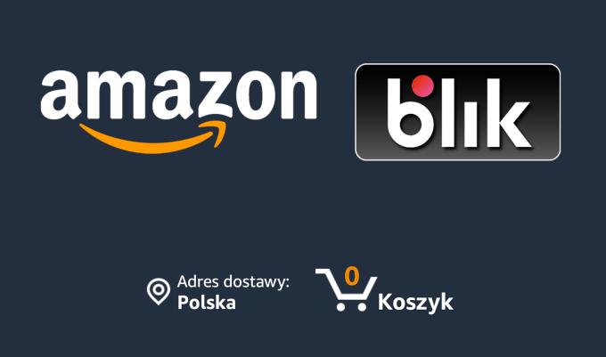 Płatności BLIKIEM w serwisie Amazon.de