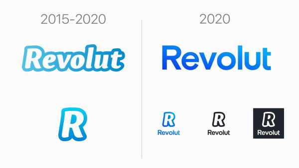 Revolut zmienia logo na bardziej nowoczesne